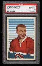 1963 Parkhurst #39 Gump Worsley HOF PSA 10 GEM MINT, POP 7 New Buy It Nows Daily