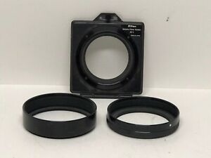 * Nikon Gelatine Filter Holder AF-2 with 72mm Thread