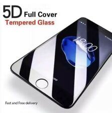 5D Full Coverage HD Tempered Glass Screen Protector For Apple iPhone 7Plus Black