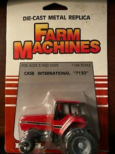 Ertl 1:64 Case International 7130 Tractor 1986 #458