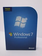 Microsoft Windows 7 Professional Upgrade 32 Bit & 64 Bit DVD MS WIN Pro