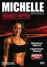 Michelle Bridges: Project Ripped! DVD R4 Sculpt Workout Fitness