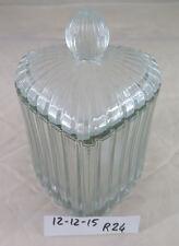 SCATOLA IN VETRO VINTAGE A FORMA DI CUORE PER CARAMELLE VINTAGE GLASS VASE R24