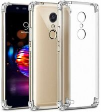 For LG G8 ThinQ V50 G7 Q7 Stylo 4 G6 Crystal Clear Soft TPU Shockproof Protector