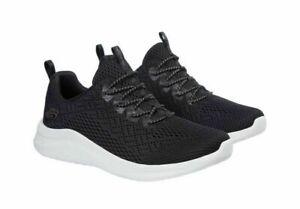 NEW Women's Skechers UltraFlex Slip-On Bungee Memory Foam Shoes Black Pick Size