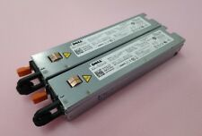 2 x DELL 500W POWER SUPPLY FOR POWEREDGE R410 H318J 0H318J