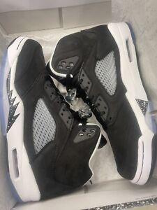 Nike Air Jordan 5 Retro Oreo Moonlight CT4838-011 Men's Size 8.5 *In Hand 9/25*