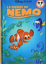Le Monde de NEMO * Disney * Hachette * album rigide enfant Pixar