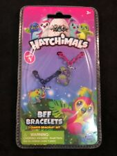 Hatchimals BFF Charm Bracelets 2 Charm Bracelet Set Colors Vary NIB