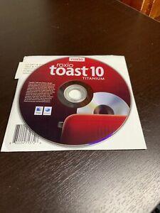 Roxio Toast 10 Titanium Burn Copy Listen Watch Software - MAC w/ Serial Key