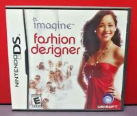 Imagine Fashion Designer - Nintendo DS DS Lite 3DS 2DS Game Complete + Tested