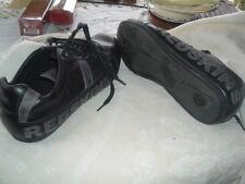 chaussures homme redskins tout cuir noir et gris p 42  8uk quasi neuves