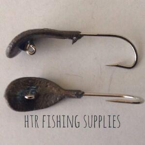 HTR Fishing Supplies 5 X Wobble Jig Heads (4 sizes)
