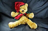 Christmas Teddy Bear Plush Toy Kids Cuddly Stuffed Animal Kid Soft Gift Plushies