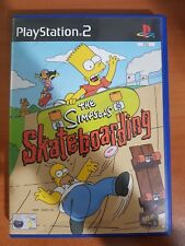 THE SIMPSONS SKATEBOARDING - PLAYSTATION 2 PS2 USATO
