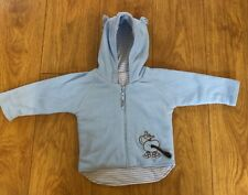 Baby Mother Care Blue Fleece Jacket 6-9months