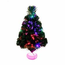 45cm Fiber Optic Christmas Tree with LED Colorful Night Light Lamp Xmas Decor