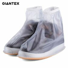 Men Women's Rain Waterproof Flat Ankle Boots Cover Heels Boots Shoes Covers Thic