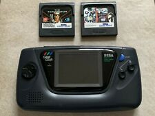 Sega Game Gear + Spiele. Neue Kondensatoren!