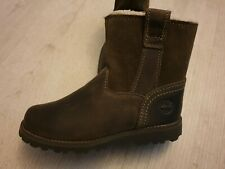 Childrens Timberland Fur Leather Boots Bnwt Rrp £70 Size Uk 1.5