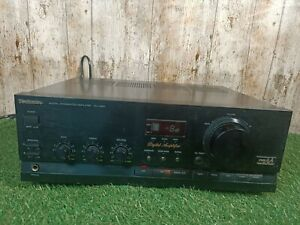 Technics SU-X901 Vintage Digital Integrated Stereo Amplifier In Working Order