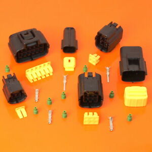 Quality Econoseal Automotive Waterproof Multi Connector Plug 2 3 4 6 8 10 12 Way