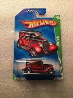 Hot wheels 2009 treasure hunt 34 Ford 6/12 US long card