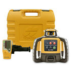 Topcon RL-H5A Self-Leveling Rotary Laser Level, Receiver, Rechargeable Battery