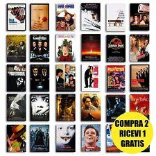 Poster film anni 90 locandina migliori film cult per arredamento camera stanza