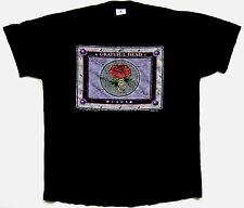 Grateful Dead Shirt T Shirt Vintage 1995 Final Tour Stone Roses Black Tee GDM L