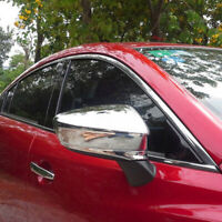 ABS Chrome Side Rear View Wing Mirror Covers Trim For Mazda 6 Atenza 2013-2017