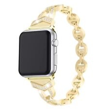 Bling Stainless Steel Watch Band Strap For Apple Watch Series 6/5/4/3/2/1