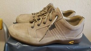 Camel active Rebajlance Men's Brown Leather Casual Shoes Size UK 9.5