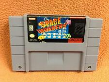 Space Invaders *Authentic* Super Nintendo SNES Game FREE SHIP!