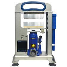 "Dulytek DHP7 Rosin Press, 7-Ton, 6"" Dual Heat Plates, Solventless Oil Extraction"