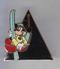 RARE PINS PIN'S .. DISNEY CANADA MICKEY SKI 1990  ~11