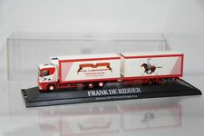 """Herpa Scania 124 Kühlkofferhängerzug Tandem """"Frank De Ridder"""" /H2969"""