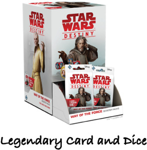 Star War Destiny - Way of the Force - Legendary Card and Dice - Single Cards