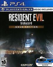 Resident Evil 7 Biohazard: Gold Edition (Sony PlayStation 4, 2017) MINT