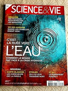 REVUE  SCIENCE & VIE  N° 1250 - NOVEMBRE  2021  /  C'EST  LA  RUEE  VERS  L' EAU