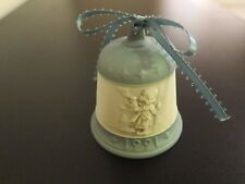 "1991 Goebel Hummel Christmas Bell ""Hear Ye, Hear Ye"" Hum 777 #206"