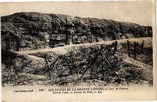 CPA Verdun-Fort de Vaux-Entrée du Fort (187609)