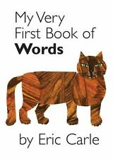 NEW ~ My Very First Book of Words  by Eric Carle  2006