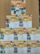 Greatest Hits Of The 70s CD - Various Artists - 8 Disc Box Set - 144 70's Tracks