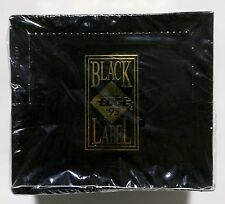 1995 Collectors Edge BLACK LABEL Football card box Factory Sealed contains 36pks