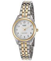 Casio LTP1129G-7B Women's Two-Tone Gold Classic Quartz Watch