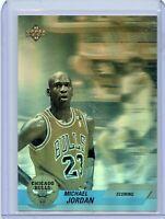 Michael Jordan 1992-93 Upper Deck basketball card hologram AW1 NM-MT Bulls HoF