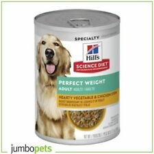 Hills Science Diet Adult Perfect Weight Chick & Veg Wet Dog Food 12x363g