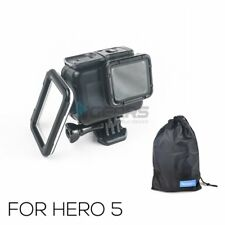 New For GoPro hero 5 Blackout waterproof Housing case with touch screen backdoor