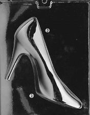 D055A & B   2 Pc. High Heel Shoe Chocolate Candy Soap Mold with Instructions